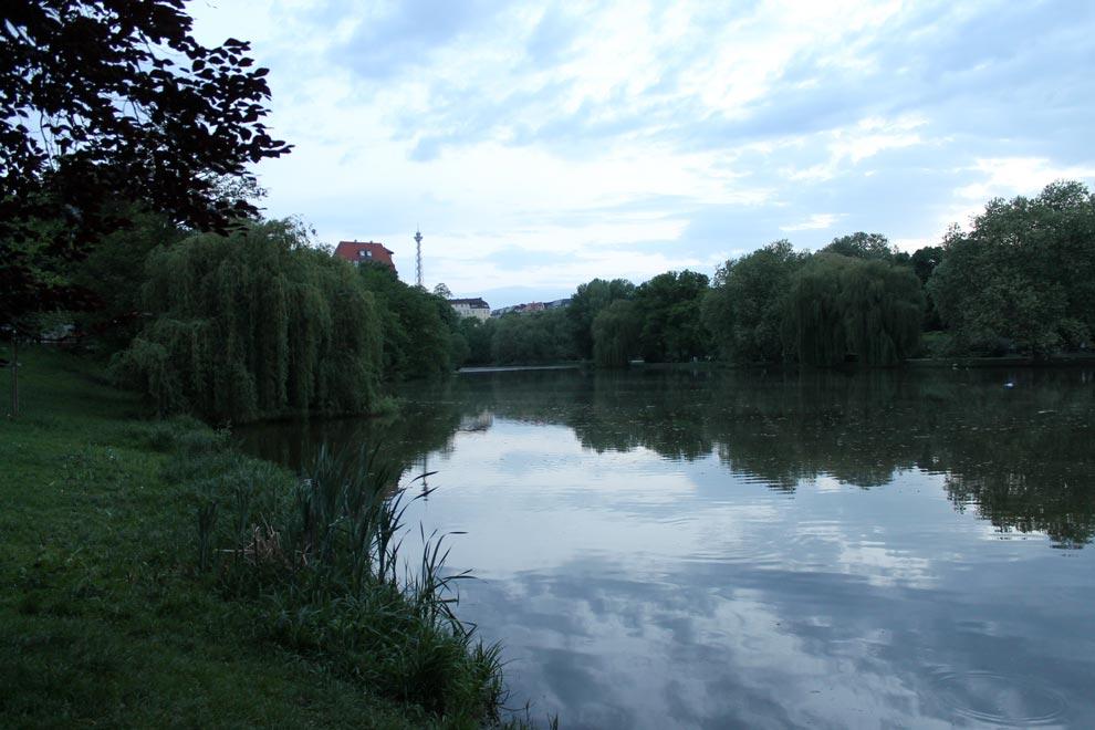 Берлин. Озеро Литцен