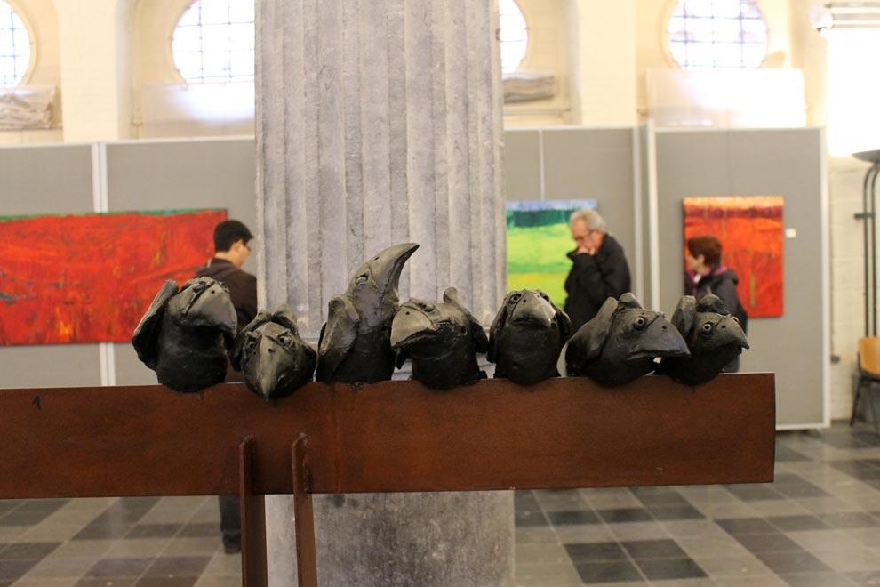 Брюгге. Общество ворон