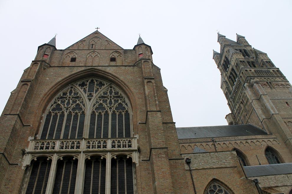 Брюгге. Кафедральный Собор Христа Спасителя