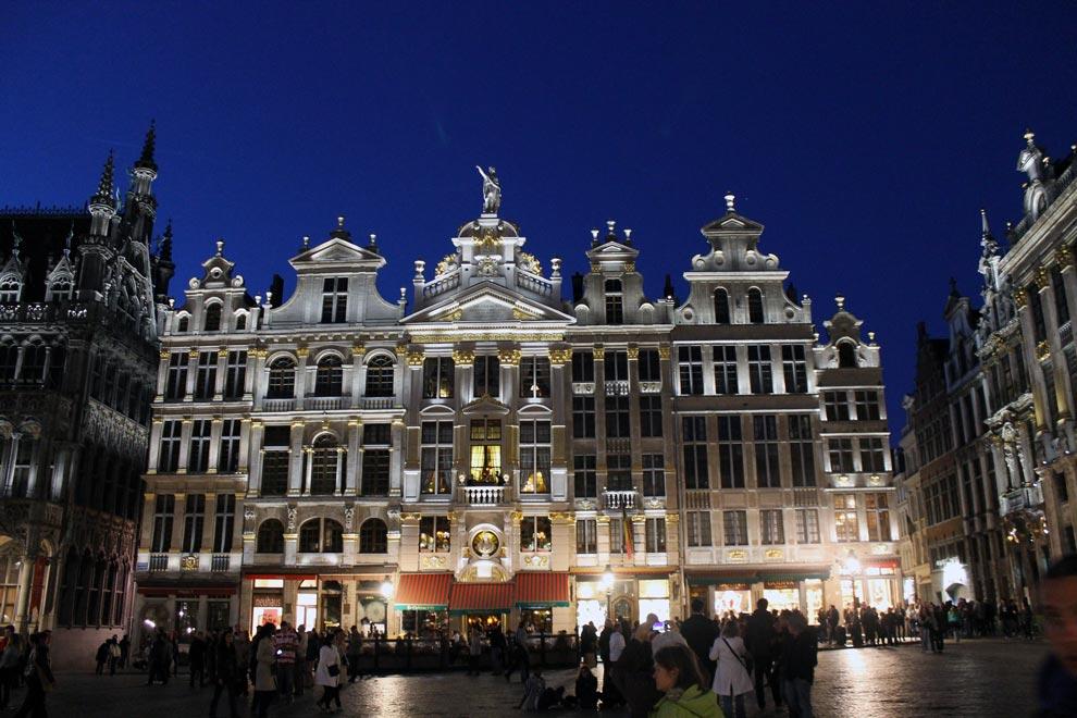 Брюссель. Площадь Гран-Плас.