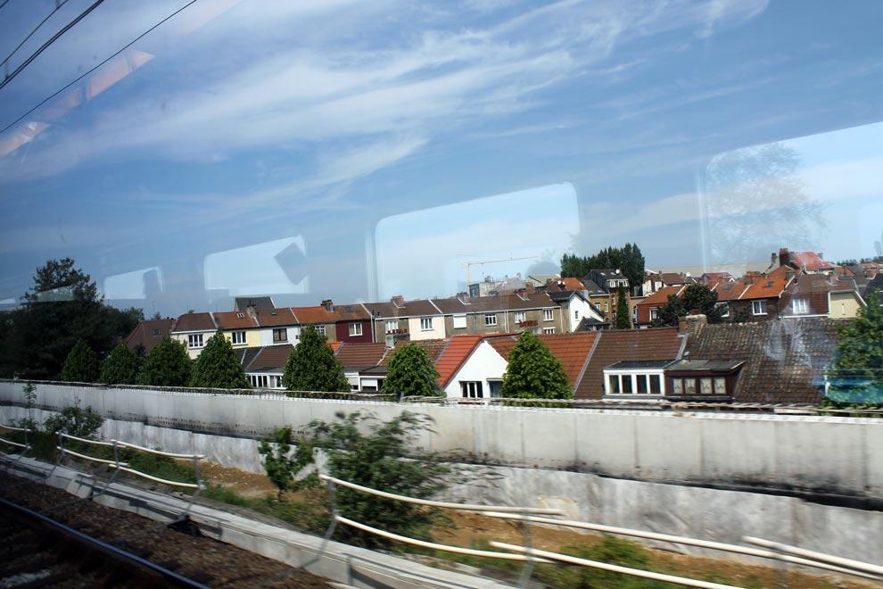 Брюссель. Поезд