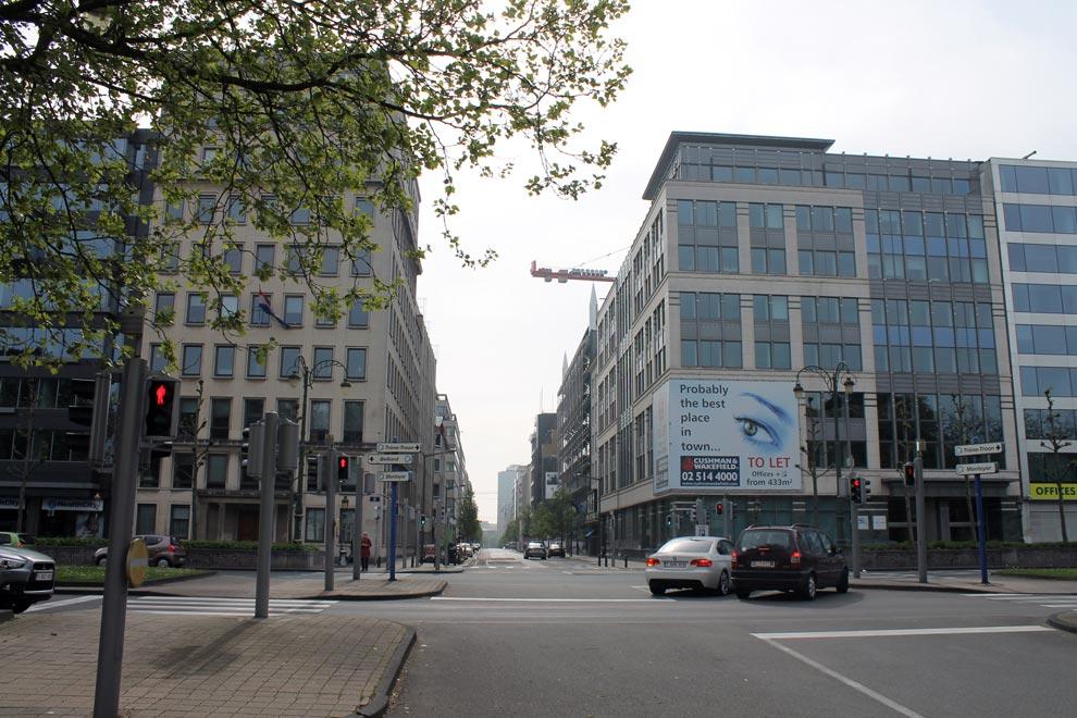 Брюссель. Идем к вокзалу-1