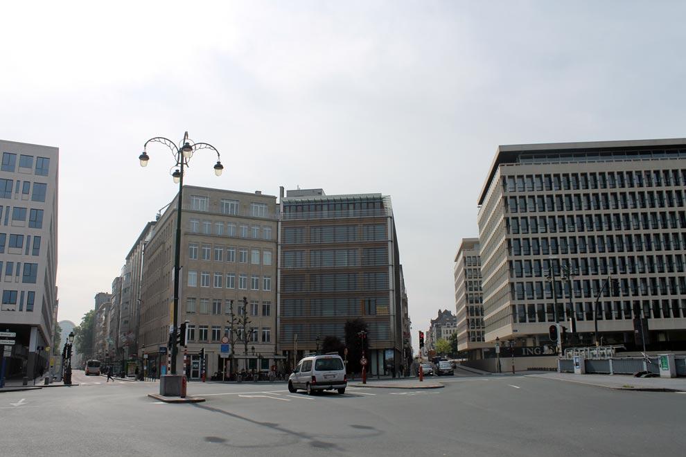 Брюссель. Идем к вокзалу-2