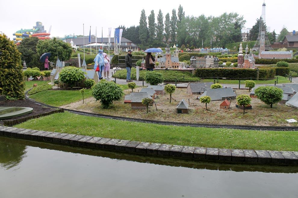 Брюссель. Парк Мини-Европа