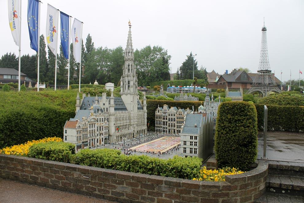 Брюссель. Парк Мини-Европа. А сюда сейчас поедем