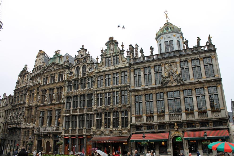 Брюссель. Площадь Гран-Плас