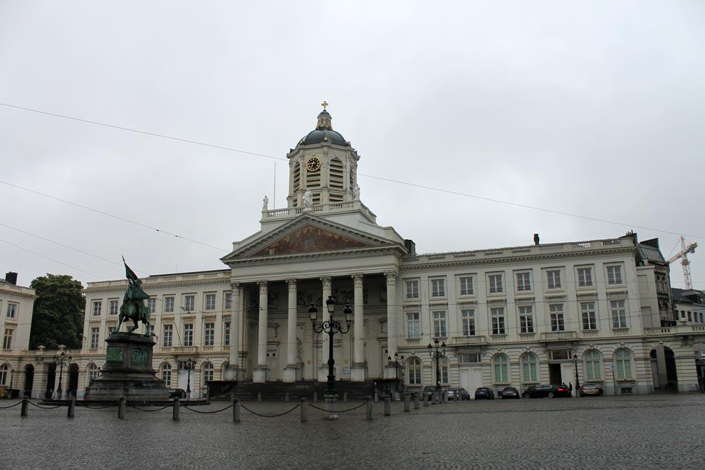 Брюссель. Никогда бы не подумал, что это храм