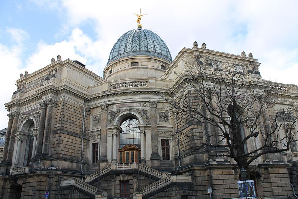 Дрезден. Крепость Дрездена с музеем