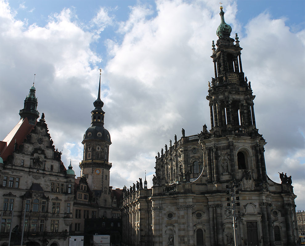Дрезден. Церковь Хофкирхе