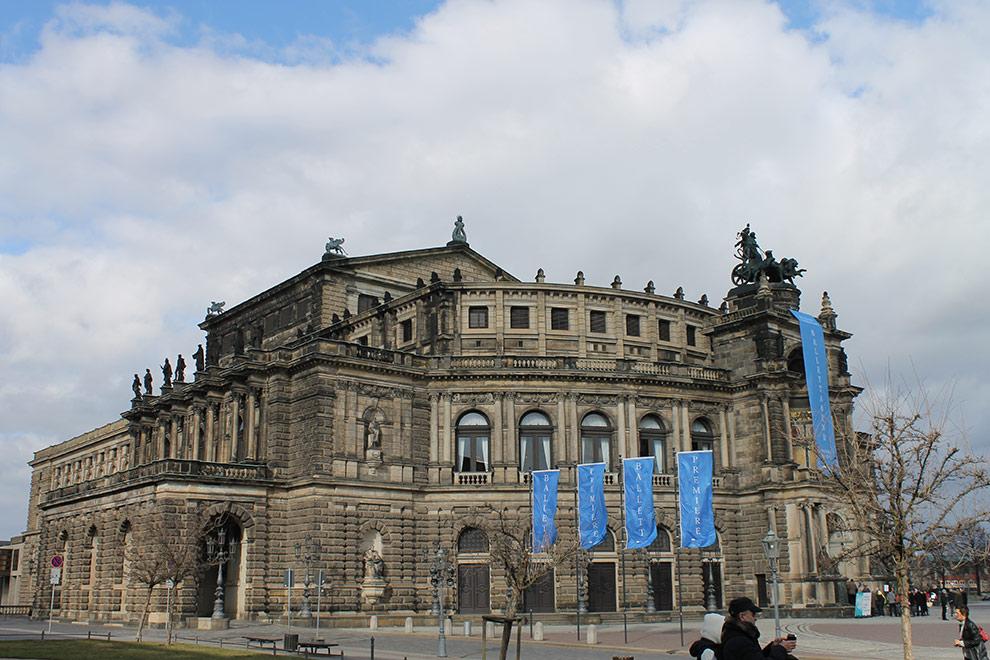 Дрезден. Опера Земпера