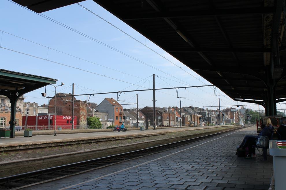 Гент. Вокзал. Прибытие.