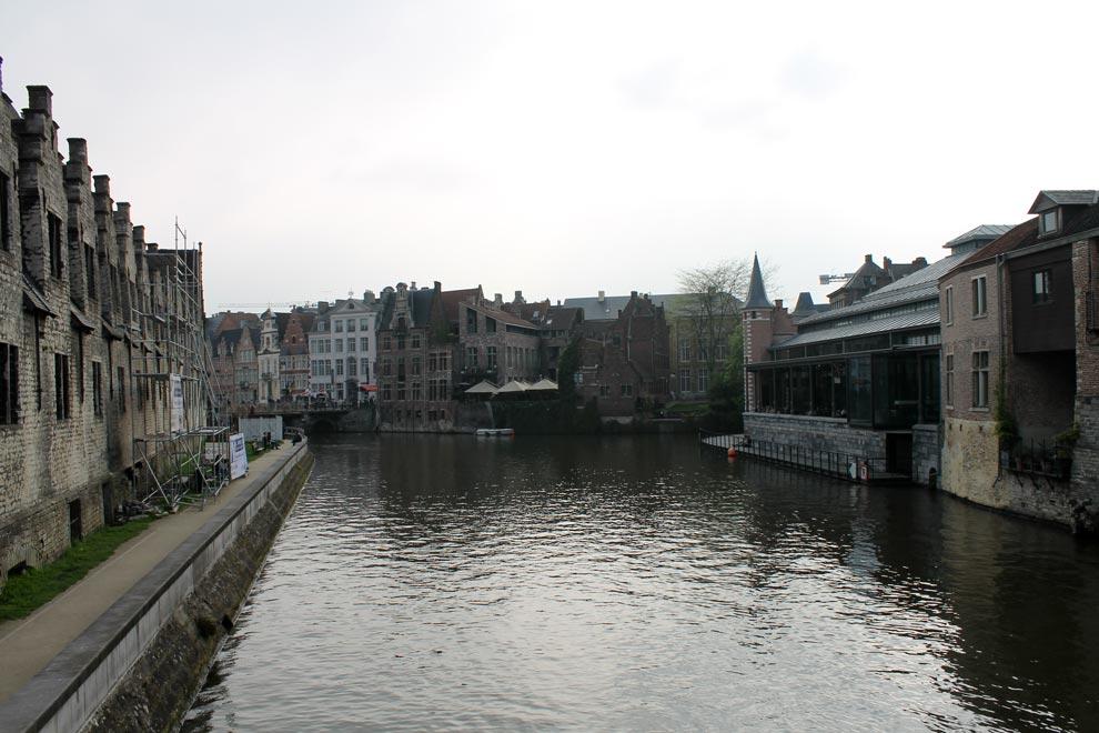 Гент. Центр города
