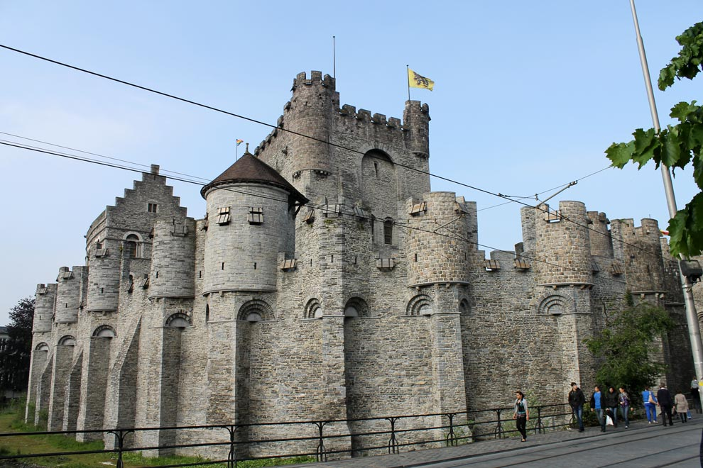 Гент. Замок графов Фландрии