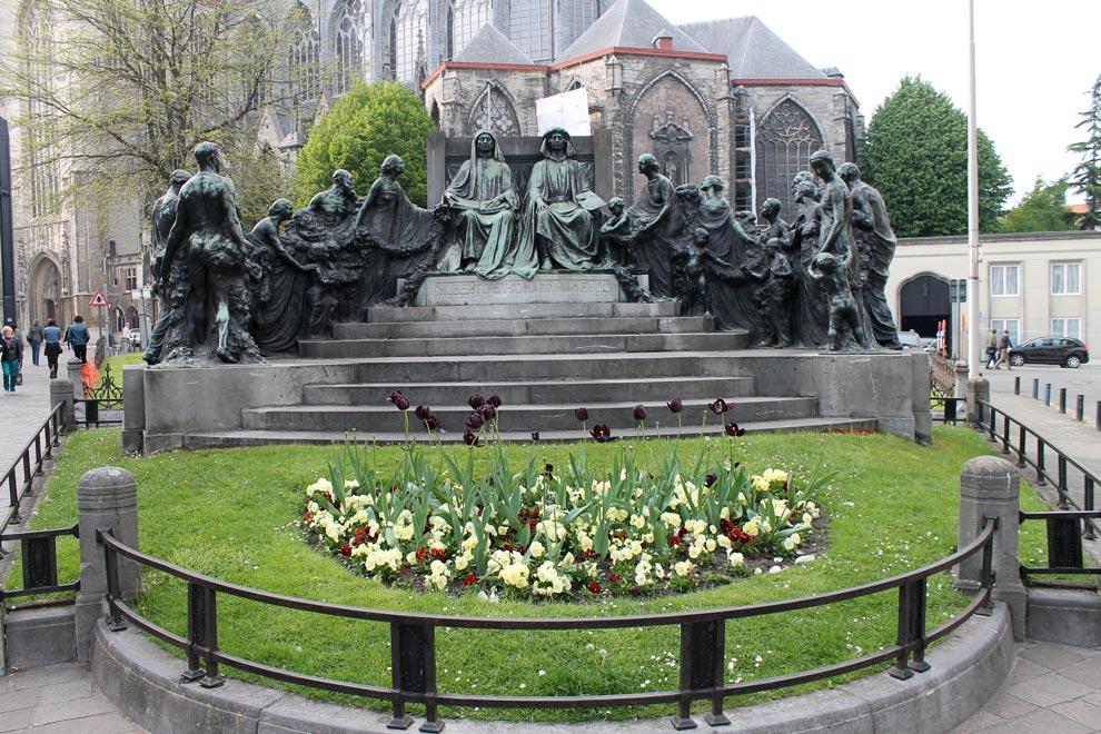 Гент. Памятник
