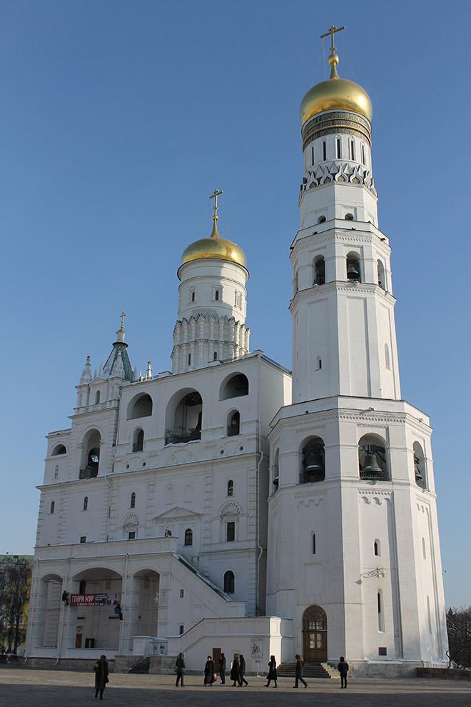 Москва, Кремль, Колокольня Ивана Великого