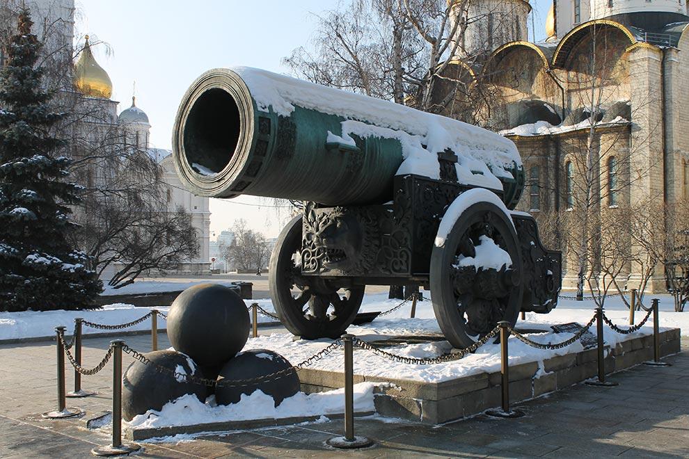 Москва, Кремль, Царь-Пушка