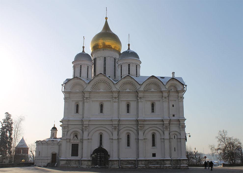 Москва, Кремль, Архангельский собор