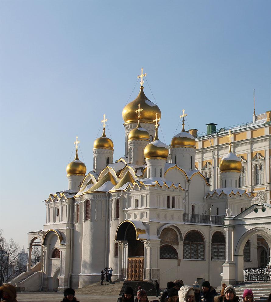 Москва, Кремль, Благовещенский собор