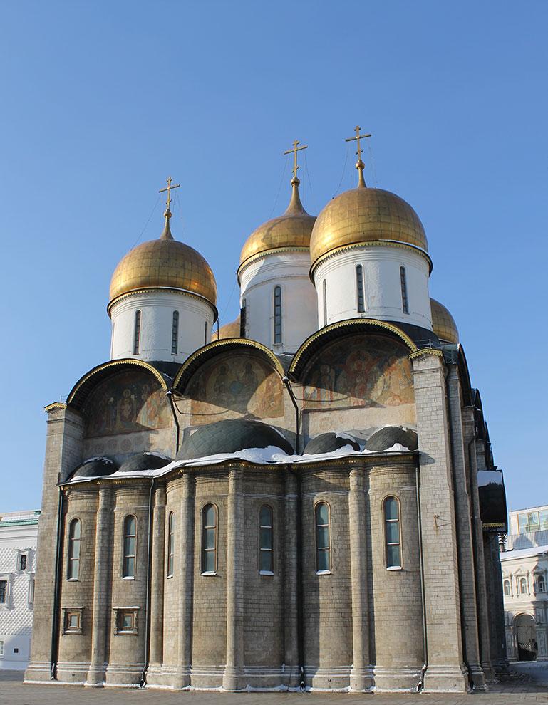 Москва, Кремль, Успенский собор