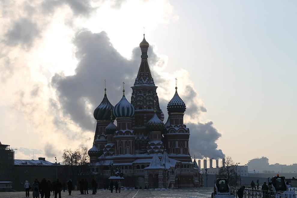 Москва, Храм Василия Блаженного на Красной площади