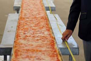 Самая большая пицца в мире