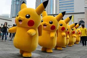 Фестиваль покемонов в Йокогаме