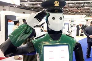Робот-полицейский из Дубая