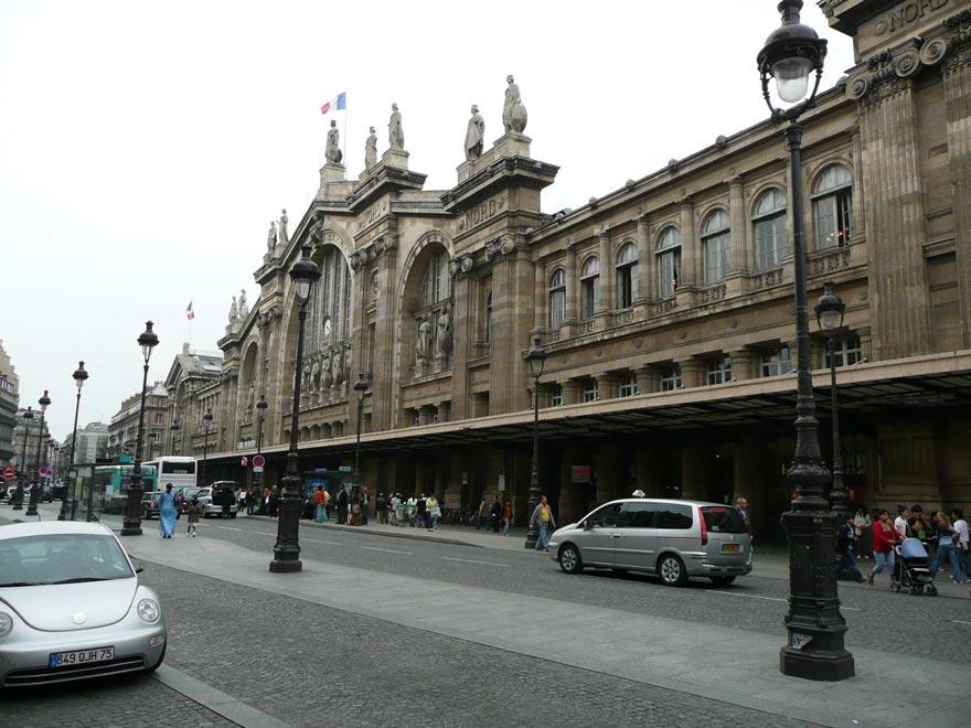 Париж. Северный вокзал (Gare du nord)