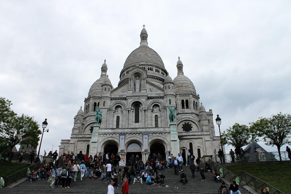 Париж. Монмартр. Базилика Сакре-Кёр