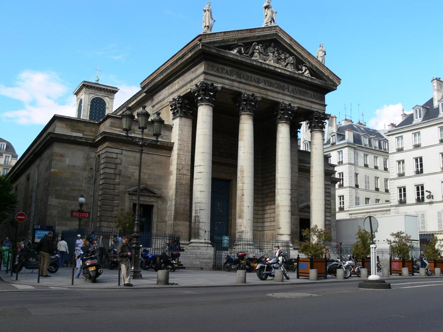 Париж. Нотр-Дам-де Лорет
