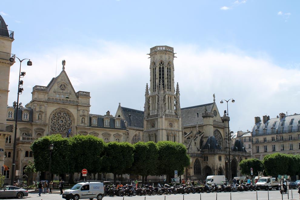 Париж. Церковь Сен-Жермен-л'Осеруа