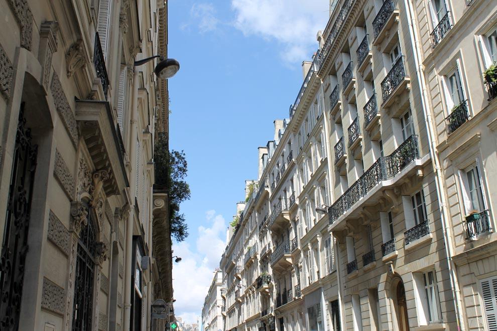Париж. Солнечное утро