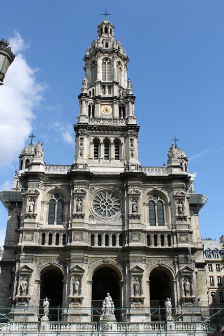 Париж. Церковь Сент-Трините