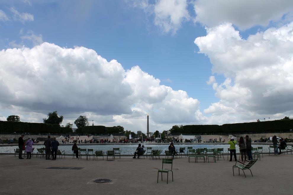 Париж. Сад Тюильри