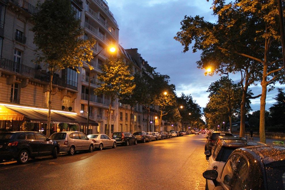 Париж. Вечер