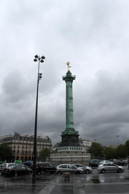 Париж. Июльская колонна