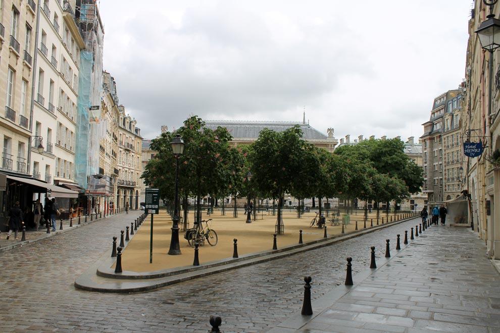 Париж. Площадь Дофина