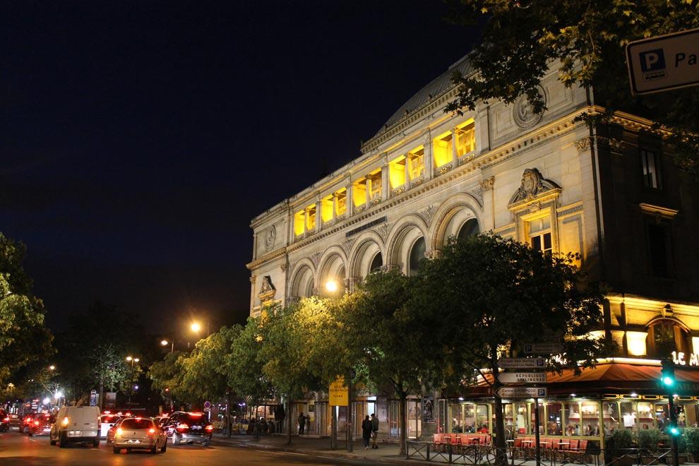 Париж. Театр Шатле