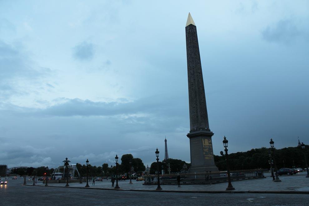 Париж. Луксорский обелиск