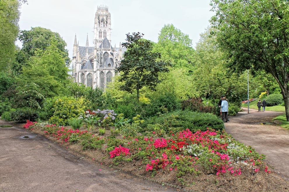 Сад Аббатства Сен-Уэн в Руане