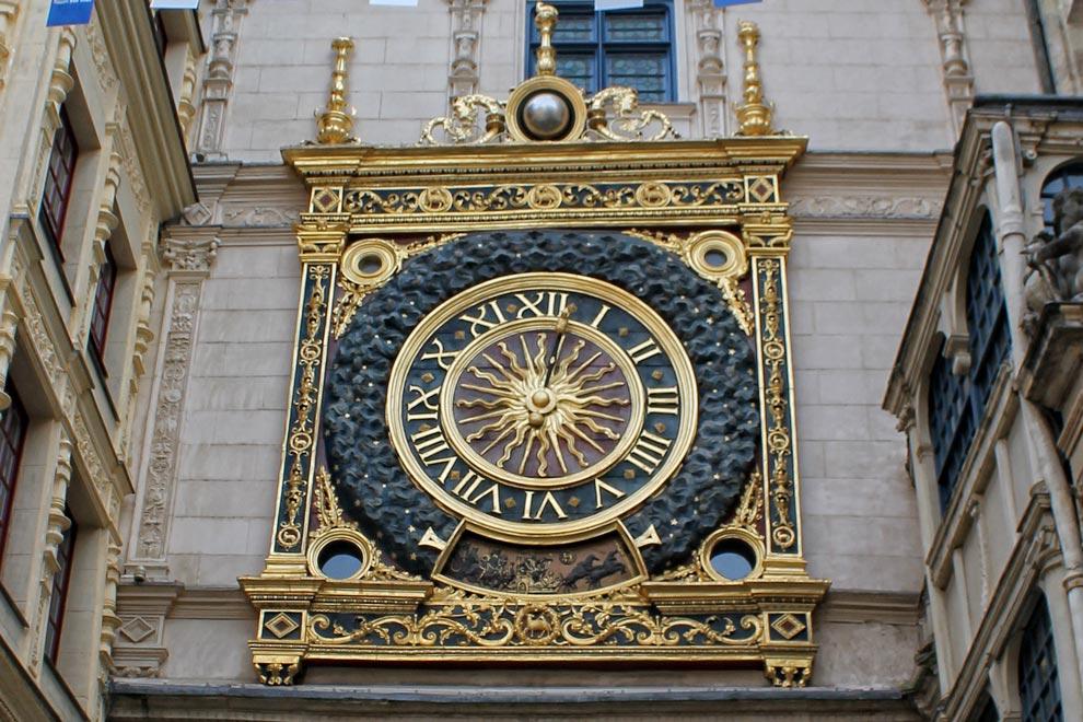 Руанские астрономические часы