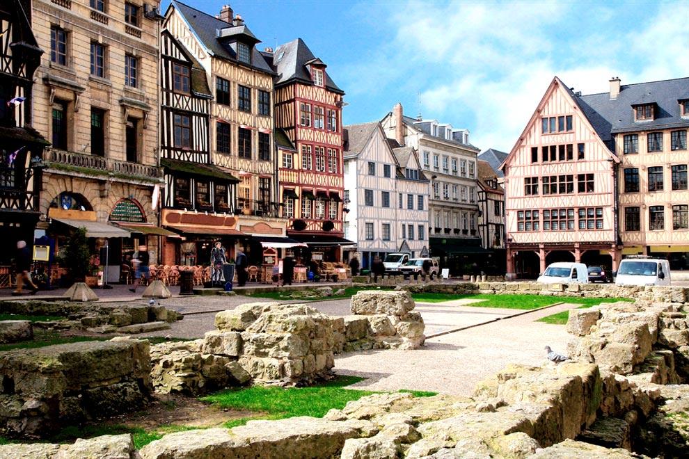 Рыночная площадь в Руане
