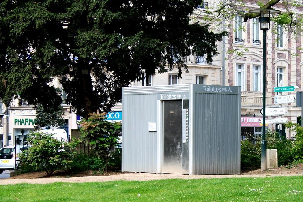 Биотуалет в Руане