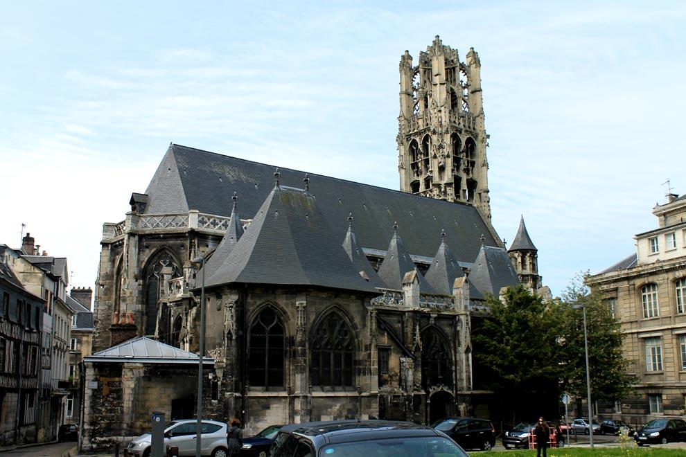Заброшенная церковь в Руане