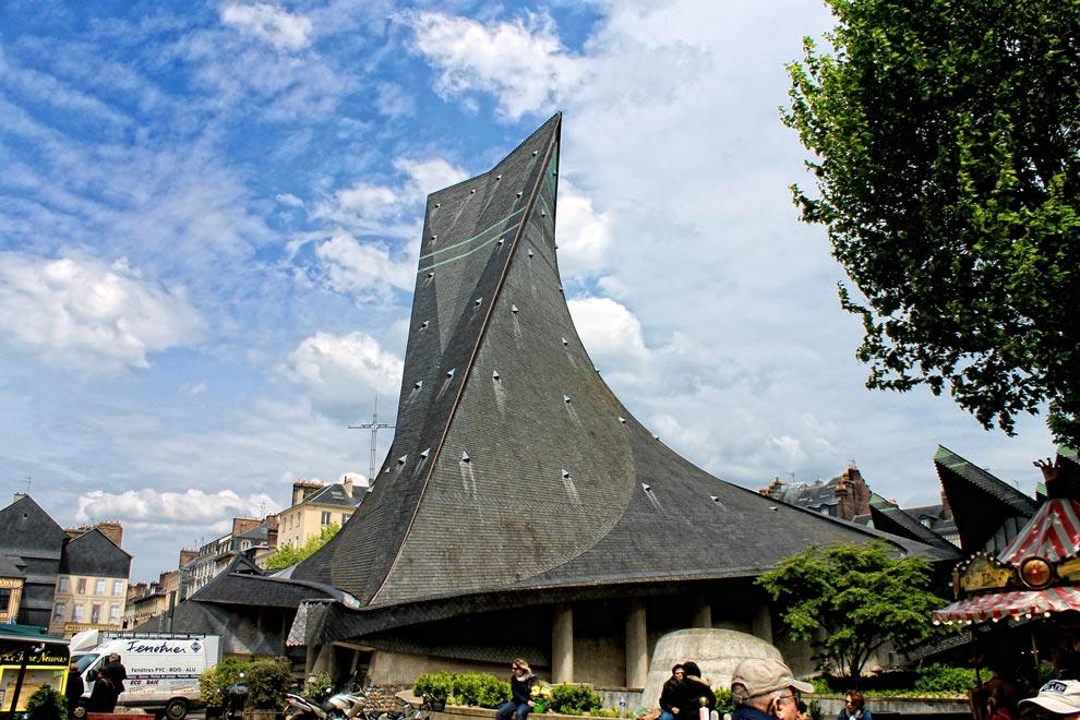 Церковь Жанны д'Арк в Руане
