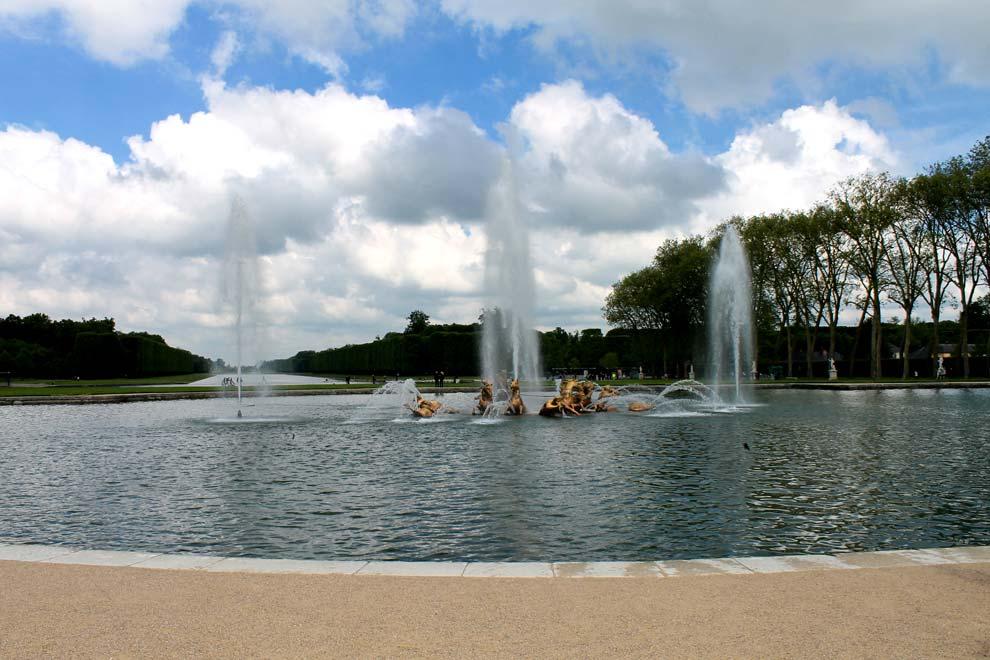 Фонтан Аполлона в Версале