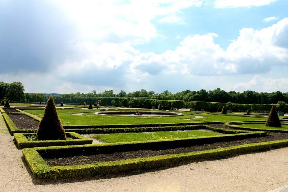 Сад перед Большим Трианоном