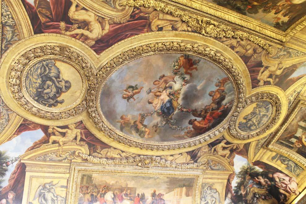 Замок Версаль внутри