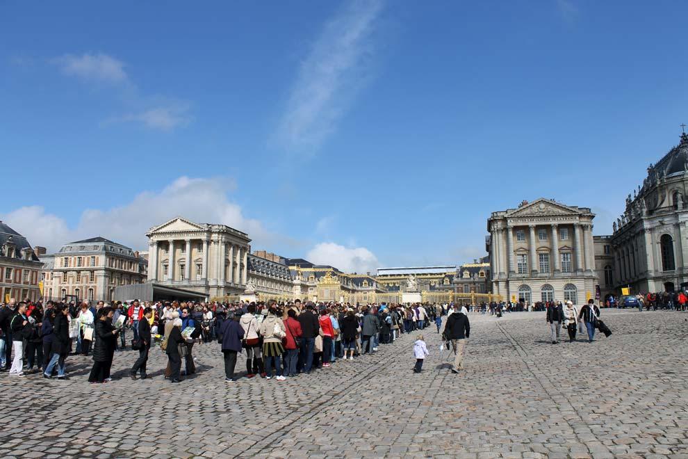 Очередь в Версаль