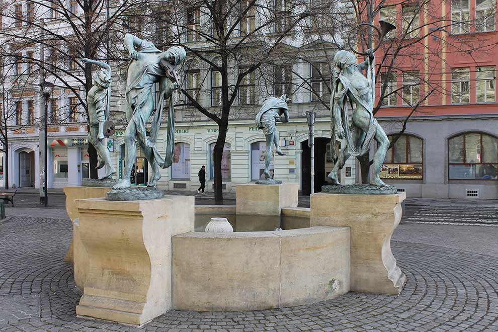 Прага. Осторожно, музыканты